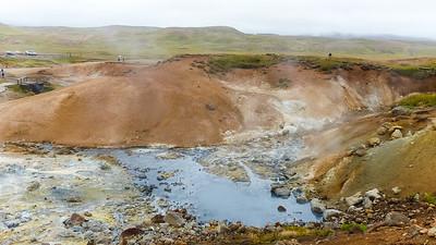 Geothermische velden Seltún
