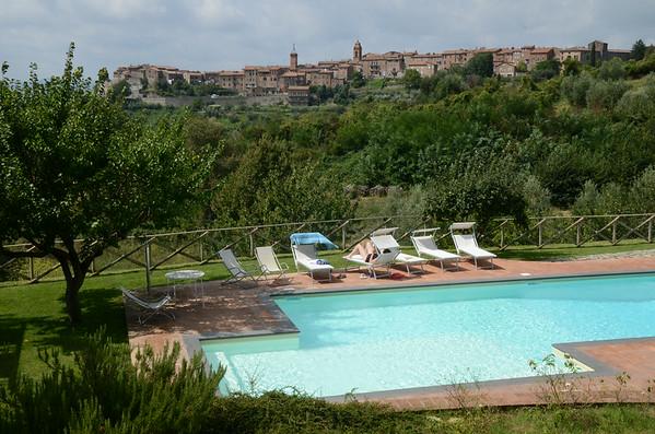 Villa Il Berneto and Orvieto 26 August 2014