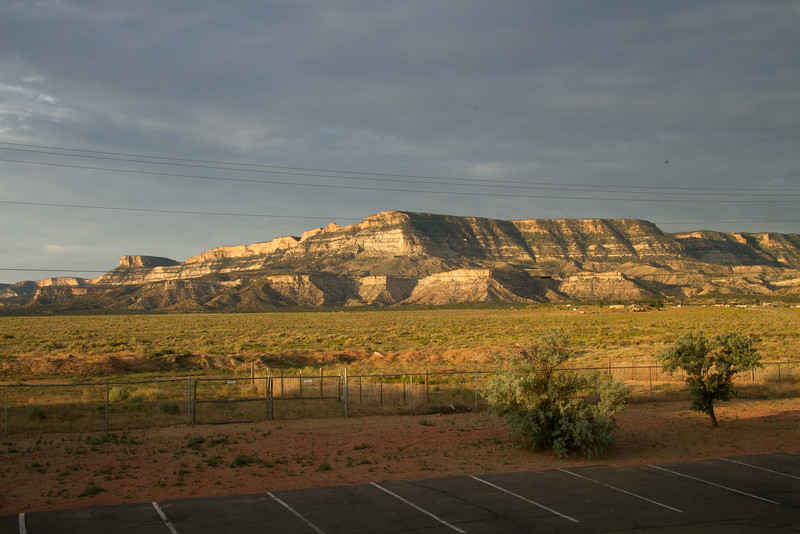 View from the Kayenta Monument Valley Inn