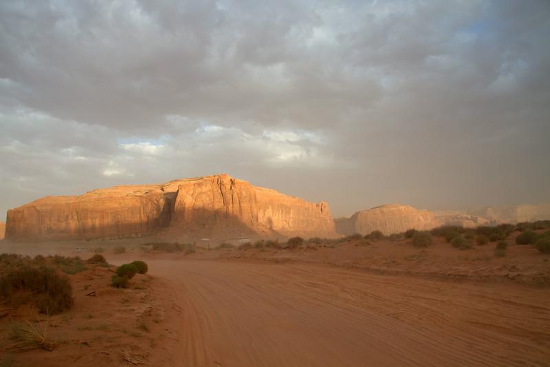 Sunset at Monument Valley, Utah