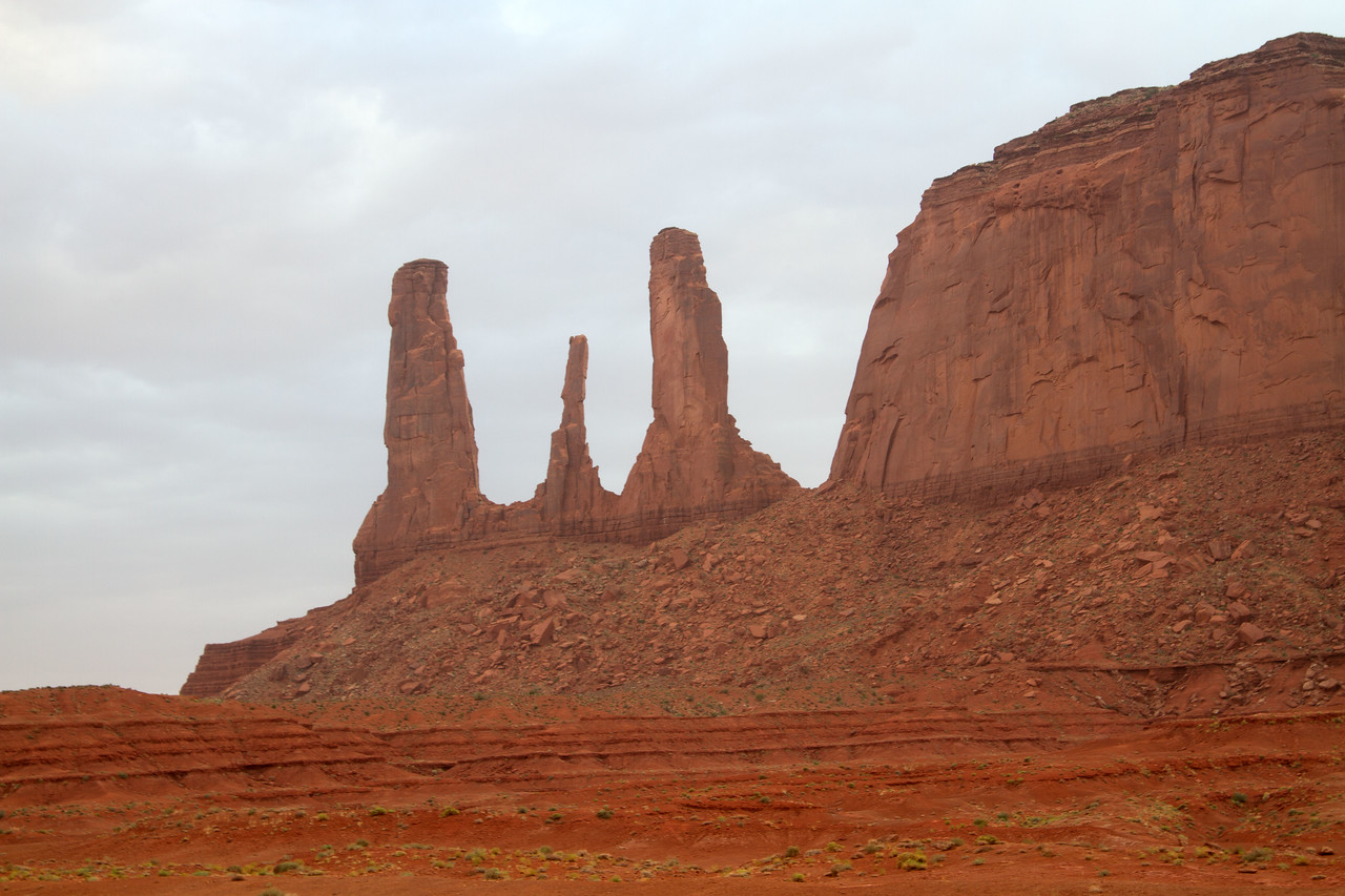 Sunset at Monument Valley, Utah