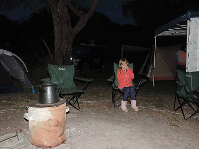 Camping at Peaceful Bay