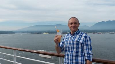 Vancouver Start van de Cruise