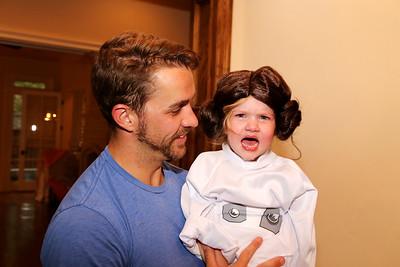 Quinn didn't like her wig.