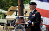 Bob Raines--Montgomery Media / <br /> Major General (Ret.) Wesley Craig speaks at the Memorial Day program at American Legion Post 10, Fort Washington Monday, May 25, 2015.