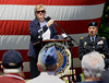 Bob Raines-- Montgomery Media / <br /> State Rep. Kate Harper, R-61st, reflects on the gratitude of the American citizens to the veterans and their families for their sacrifice, speaking at the American Legion Post 10 Memorial Day program in Fort Washington Monday, May 25, 2015