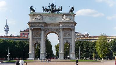 Milaan Arco della Pace