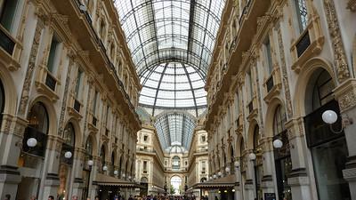 Milaan Galleria Vittorio Emanuele II