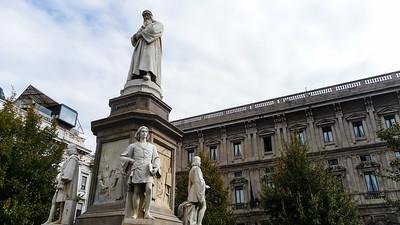 Milaan Piazza della Scala