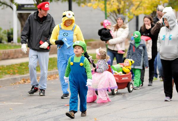 Don Knight | The Herald Bulletin<br /> Pendleton Lion's Club Halloween Parade on Saturday.