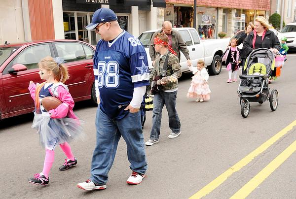 Don Knight   The Herald Bulletin<br /> Pendleton Lion's Club Halloween Parade on Saturday.