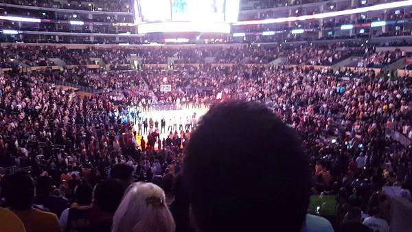 Staples Center, LA, Nov 1st, 2015: LA Lakers versus Dallas Mavericks (93:103)