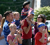 Bob Raines--Montgomery Media<br /> Children and parents watch the Wyndmoor Memorial Day Parade May 25, 2015.