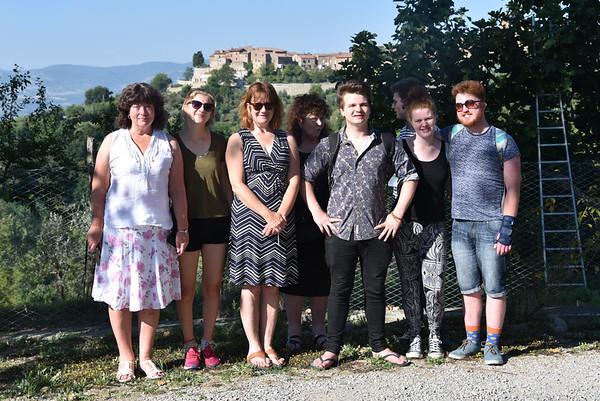 Leaving Il Berneto - last day in Rome 29 August 2015