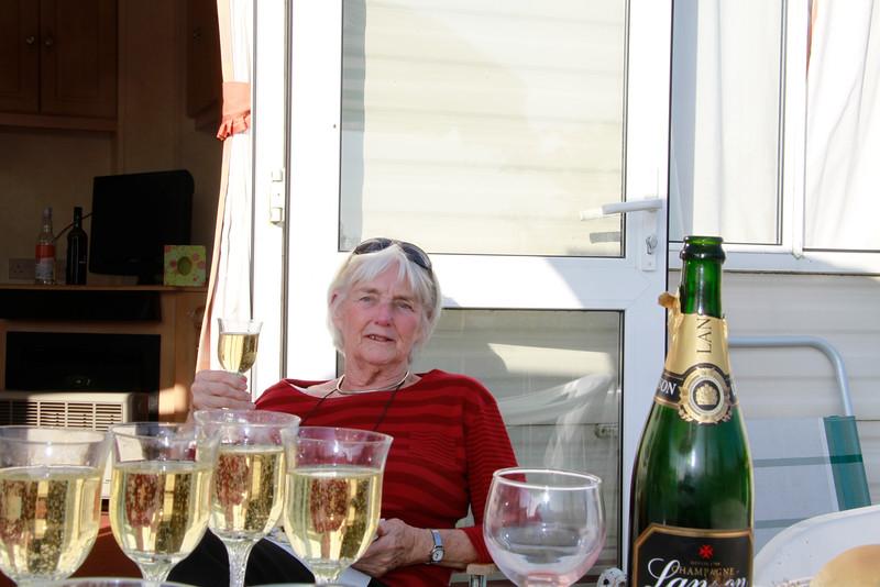 Mum's 80th birthday at the caravan in Garstang.