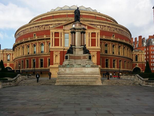 2015-01-18 London, Royal Albert Hall & Kensington Gardens (Kooza trip)