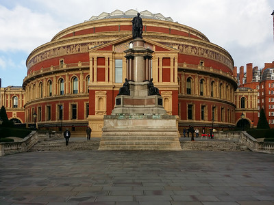 2015-01-18 London, Royal Albert Hall & Kensington Gardens (Kooza trip)