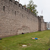 South Walls of Cardiff Castle
