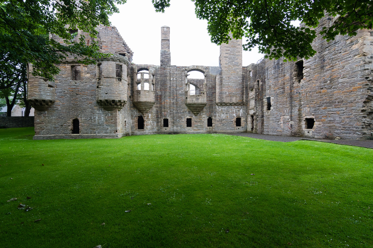 Bishops & Earls palace, Kirkwall, Orkney.