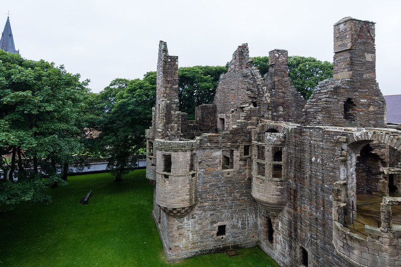 Bishops & Earls palace, Kirkwall, Orkney.