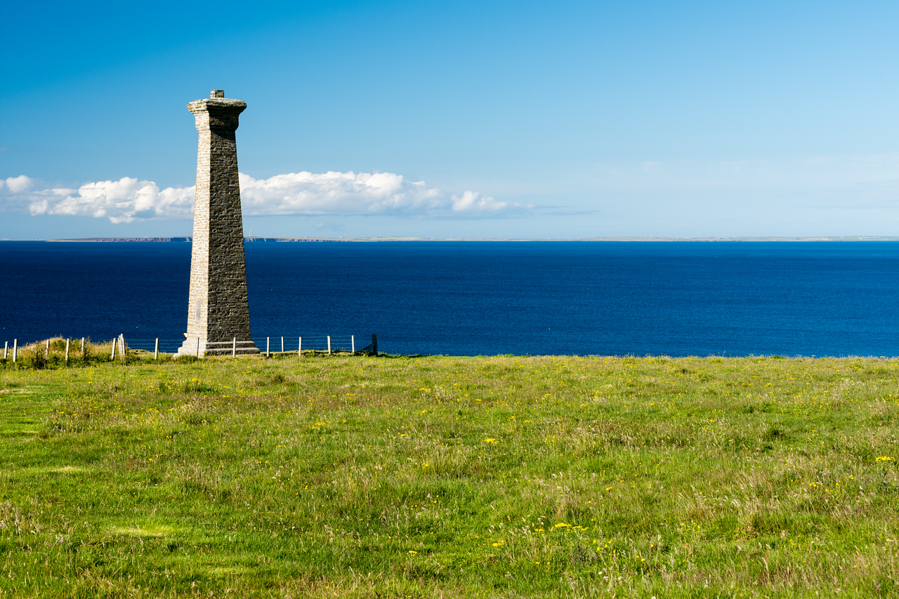 The covenanters memorial, orkney Scotland.