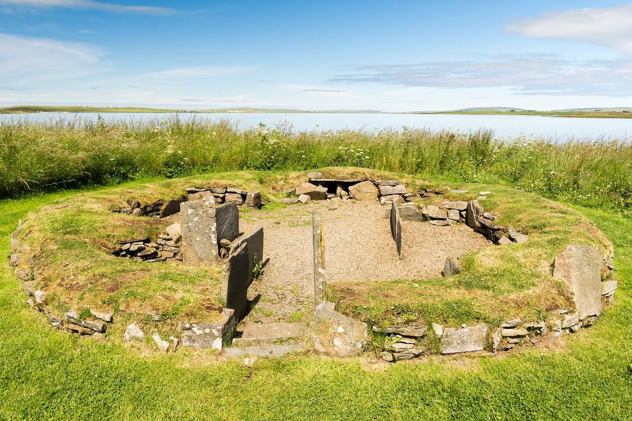Barnhouse Settlement.<br /> Orkney, Scotland.