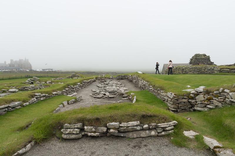Norse Settlement.<br /> Jarlshof, Scotland.
