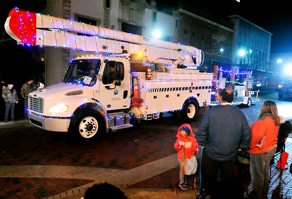 John P. Cleary    The Herald Bulletin<br /> Anderson tree lighting and Christmas Parade.