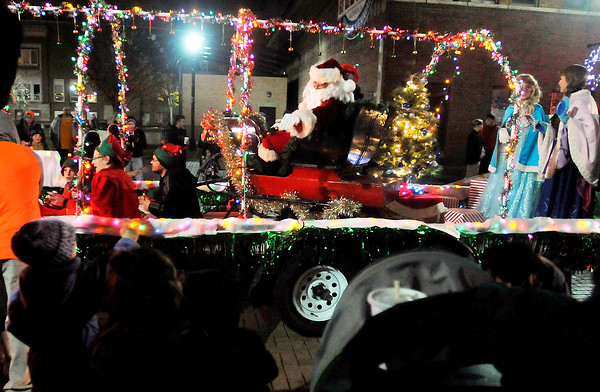 John P. Cleary |  The Herald Bulletin<br /> Anderson tree lighting and Christmas Parade.