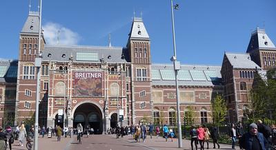 Vertrek Amsterdam Bezoek Rijksmuseum