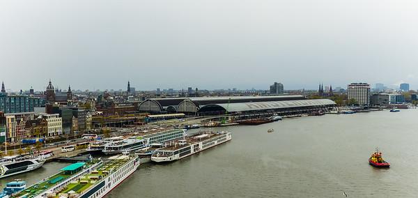 Vertrek Amsterdam