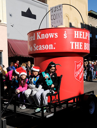 Don Knight   The Herald Bulletin<br /> Christmas in Pendleton on Saturday.