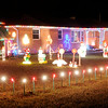 Don Knight | The Herald Bulletin<br /> Jerry Palmer has been decorating his home at 1705 Bittersweet Dr. since 1975.