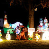 Don Knight | The Herald Bulletin<br /> Scott and Shari Vermillion have 57 inflatebles and over 8,000 lights in their display at 4766 Beachmont Dr. in Richland Wood.