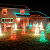 Don Knight | The Herald Bulletin<br /> The front and backyard both have been decorated at 1815 Oakwood Drive.