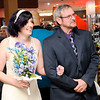 Don Knight | The Herald Bulletin<br /> Peter Young waits to give away his stepdaughter Brittany Goetzke during Hoosier Parks' New Year's Eve festivities on Saturday. Judge Thomas Newman Jr. presided over 10 weddings on Saturday.