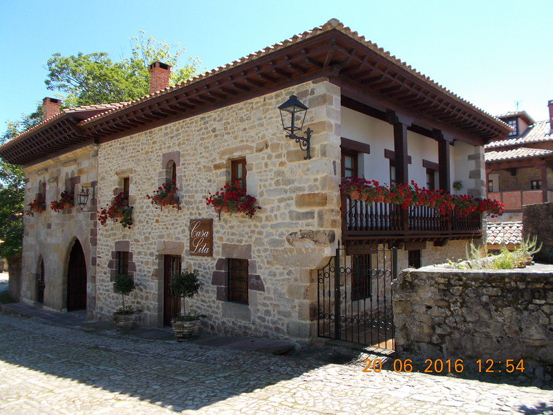 Santillana del Mar. Lita's House