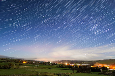 20161113 Northumberland Star Trails
