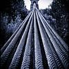 Clifden Suspension Bridge Cables