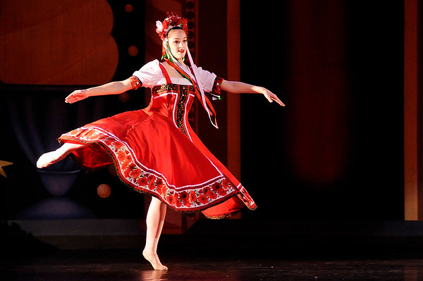 Don Knight    The Herald Bulletin<br /> Anderson Young Ballet Theatre's production of the Nutcracker on Thursday.