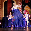 Don Knight |  The Herald Bulletin<br /> Mother Ginger, portrayed by Steve Simon, and her imps perform for Clair in Anderson Young Ballet Theatre's production of the Nutcracker on Thursday.
