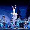 Don Knight |  The Herald Bulletin<br /> The Snow King and Queen dance with the snowflakes and flurries in the Anderson Young Ballet Theatre's production of the Nutcracker on Thursday.
