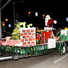 Don Knight |  The Herald Bulletin<br /> Santa Claus closes out the Anderson Christmas parade on Saturday.
