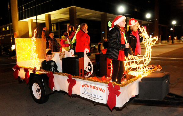 Don Knight    The Herald Bulletin<br /> Christmas parade in Anderson on Saturday.