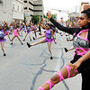 John P. Cleary |  The Herald Bulletin<br /> The Anderson Steppers|Unique Diamonds go through their routine during the Anderson Independence Day Parade.
