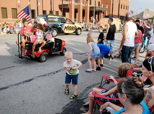 John P. Cleary    The Herald Bulletin<br /> Anderson's Independence Day Parade.