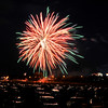 John P. Cleary | The Herald Bulletin<br /> Anderson City fireworks at Athletic Park.