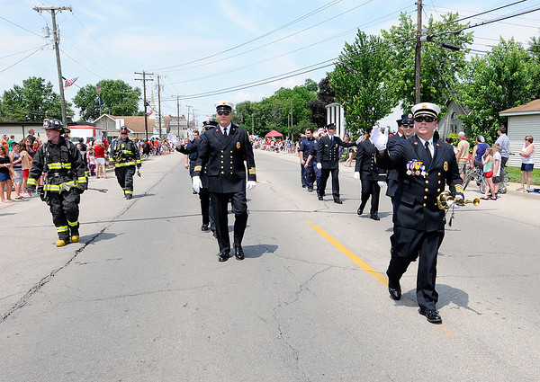 Don Knight   The Herald Bulletin<br /> Chesterfield Independence Day Parade on Tuesday.