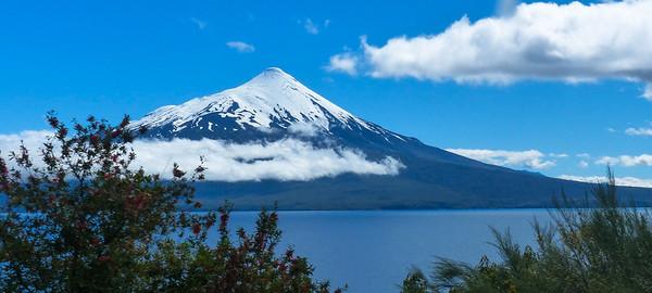 Puerto Montt Petrohué waterval en de Osorno vulkaan