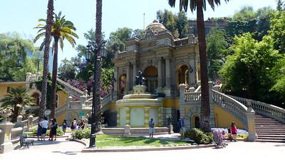 Santiago Cerro Santa Lucia